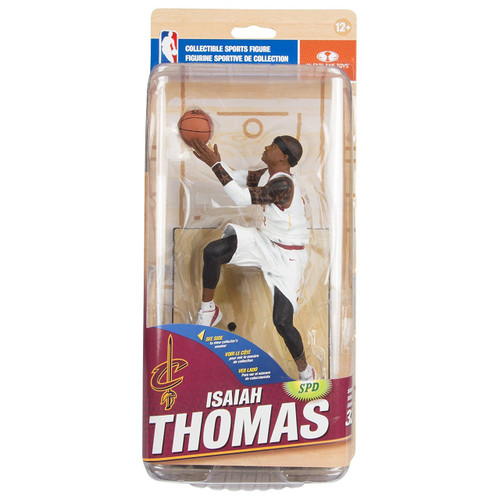McFarlane Toys NBA Cleveland Cavaliers Sports Picks Series 32 Isaiah Thomas Action Figure [White Uniform]