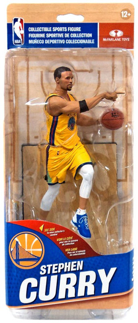 McFarlane Toys NBA Golden State Warriors Sports Picks Series 32 Stephen Curry Action Figure [Yellow City Edition]