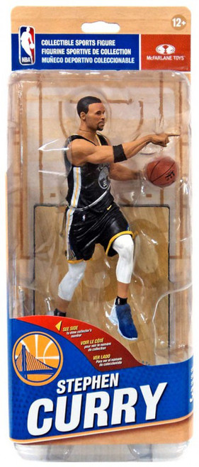 McFarlane Toys NBA Golden State Warriors Sports Picks Series 32 Stephen Curry Action Figure [Black Statement Edition]