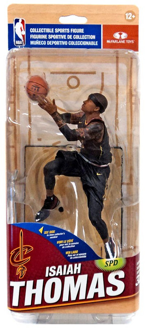 McFarlane Toys NBA Cleveland Cavaliers Sports Picks Series 32 Isaiah Thomas Action Figure [Black Statement Edition]