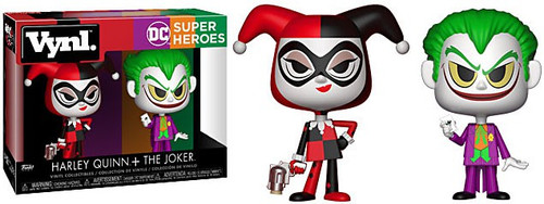 Funko DC Super Heroes Vynl. Harley Quinn & The Joker Vinyl Figure 2-Pack