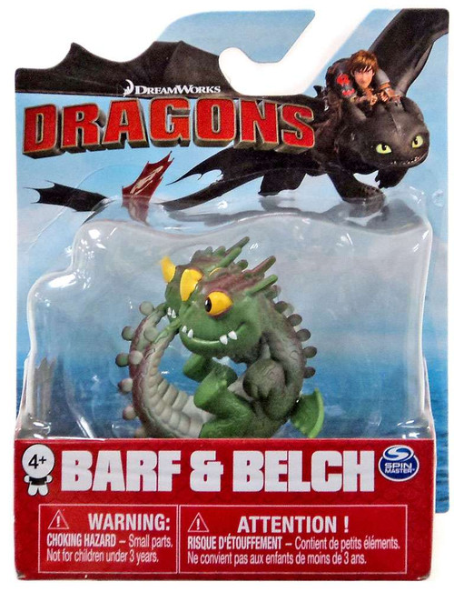 How to Train Your Dragon Mini Dragons Barf & Belch 3-Inch Mini Figure
