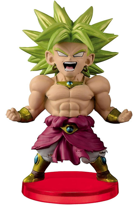 Dragon Ball Z WCF Legendary Super Saiyan Broly 2.5-Inch Collectible Figure BS19