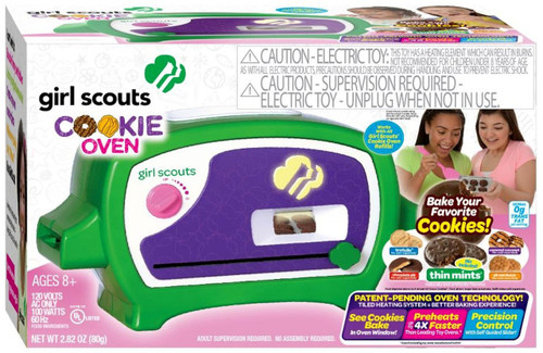 Girl Scouts Deluxe Cookie Oven Set