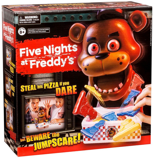 Five Nights at Freddy's Steal His Pizza if You Dare! Game [Beware Jumpscare!]