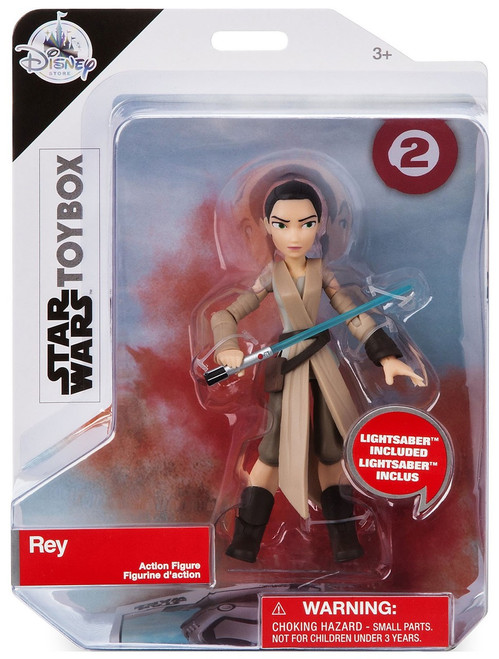 Disney Star Wars The Last Jedi Toybox Rey Exclusive Action Figure
