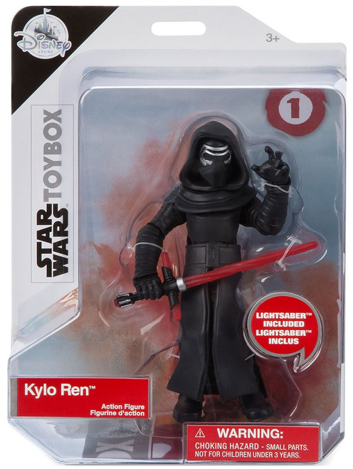 Disney Star Wars The Last Jedi Toybox Kylo Ren Exclusive Action Figure