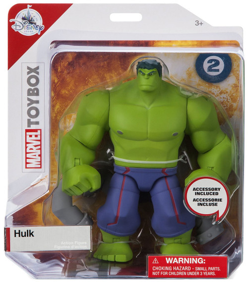 Disney Marvel Toybox Hulk Exclusive Action Figure