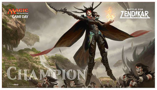 Ultra Pro MtG Card Supplies Battle for Zendikar Game Day Playmat [Drana, Liberator of Malakir]