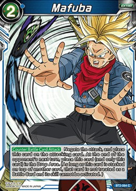 Dragon Ball Super Trading Card Game Union Force Common Mafuba BT2-064