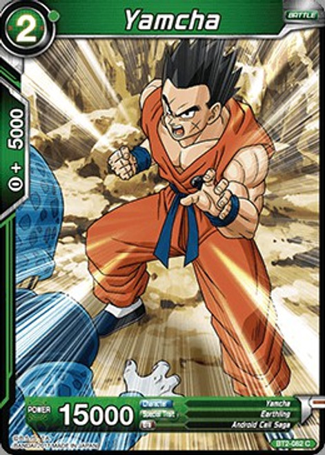 Dragon Ball Super Collectible Card Game Union Force Common Yamcha BT2-082
