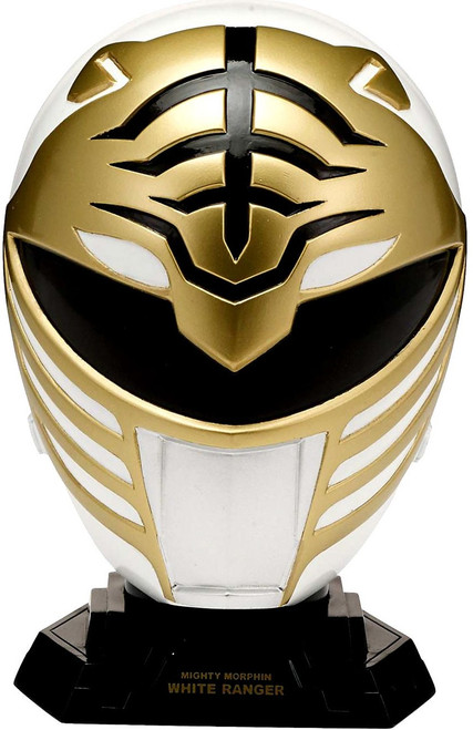 Power Rangers Mighty Morphin Legacy White Ranger Helmet [Quarter Scale]