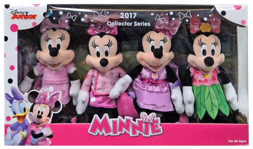 Disney 2017 Collector Series Minnie Mouse 8.5-Inch Plush Set