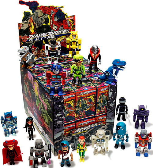 Transformers & GI Joe Vinyl Mini Series 3-Inch Mystery Box [24 Packs]
