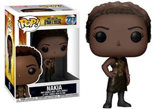 Funko Marvel Universe Black Panther POP! Marvel Nakia Vinyl Figure #277