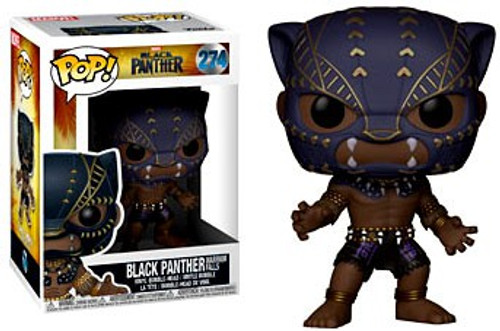 Funko Marvel Universe POP! Marvel Black Panther Vinyl Figure #274 [Warrior Falls]