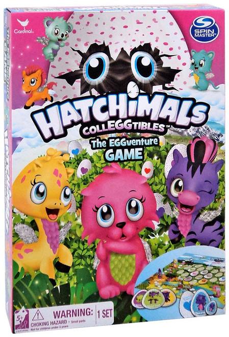 Hatchimals Colleggtibles The EGGventure Board Game [Regular]
