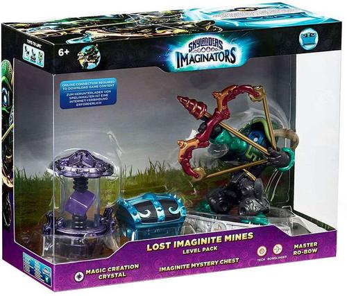 Skylanders Imaginators Lost Imaginite Mines Exclusive Level Pack [Magic Creation Crystal, Imaginite Mystery Chest & master Ro-Bow]