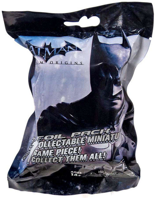 DC HeroClix Batman Arkham Origins Booster Pack [1 RANDOM Figure]