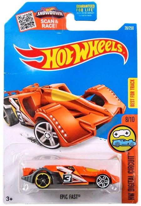 Hot Wheels HW Digital Circuit Epic Fast Die-Cast Car #8/10