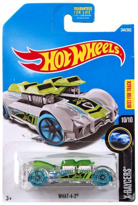 Hot Wheels X-Raycers What-4-2 Diecast Car #10/10