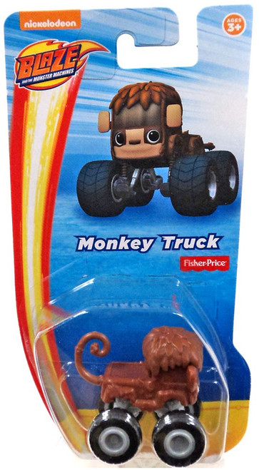 Fisher Price Blaze & the Monster Machines Nickelodeon Monkey Vehicle