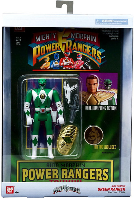 Power Rangers Mighty Morphin Legacy Green Ranger Action Figure [Auto Morphin]