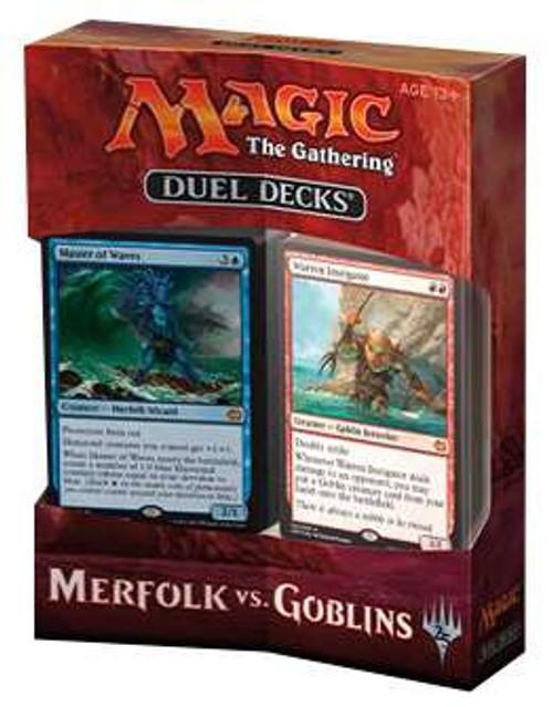 MtG Trading Card Game Merfolk vs Goblins Merfolk vs. Goblins Duel Decks