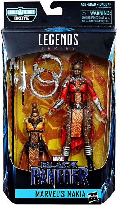 Black Panther Marvel Legends Okoye Series Nakia Action Figure