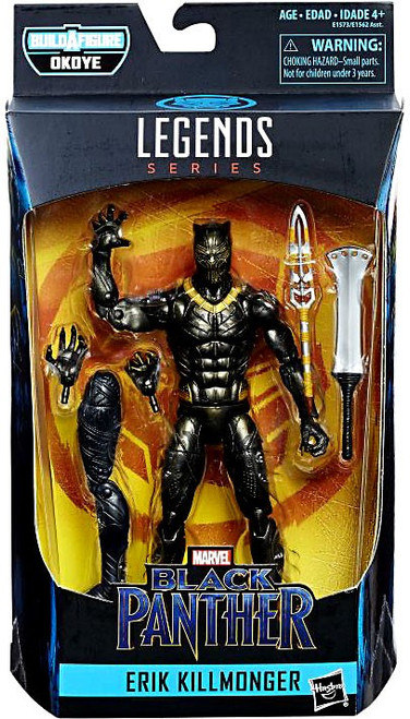 Black Panther Marvel Legends Okoye Series Erik Killmonger Action Figure
