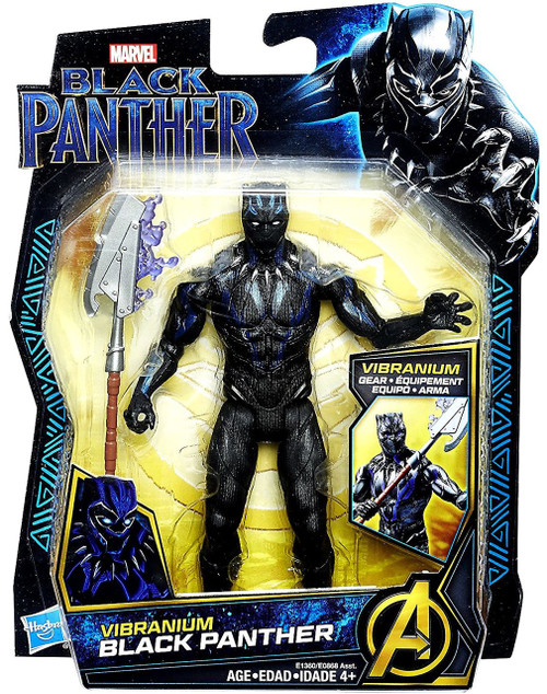 Marvel Vibranium Black Panther Action Figure