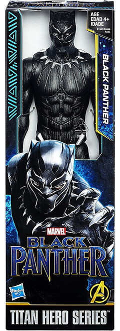 Marvel Titan Hero Series Black Panther Action Figure [Movie]
