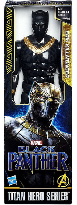 Marvel Black Panther Titan Hero Series Erik Killmonger Action Figure