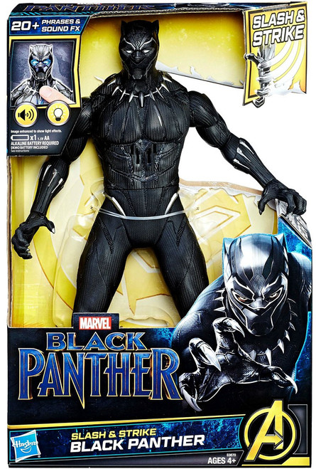 Marvel Slash & Strike Black Panther 13-Inch Figure
