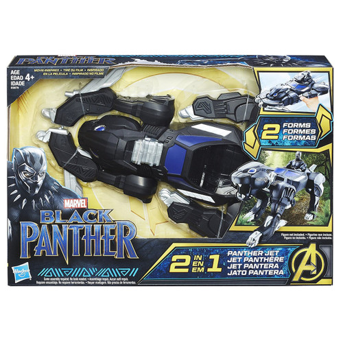 Marvel Black Panther Panther Jet 2-In-1 Vehicle