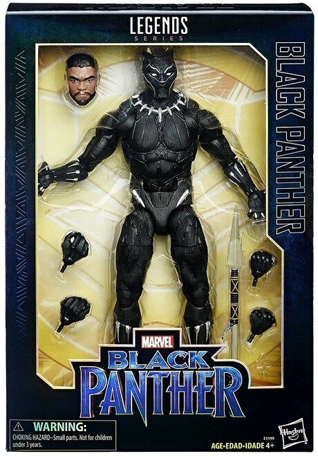 Marvel Legends Black Panther Deluxe Collector Action Figure
