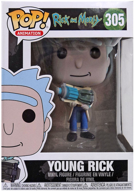 Funko Rick & Morty POP! Animation Young Rick Exclusive Vinyl Figure #305