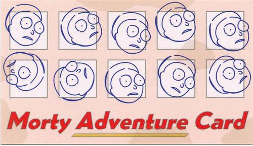 Funko Rick & Morty Morty Adventure Card