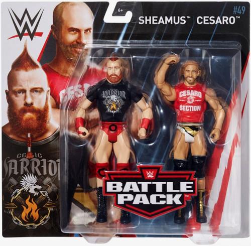 WWE Wrestling Battle Pack Series 49 Sheamus & Cesaro Action Figure 2-Pack [The Bar]