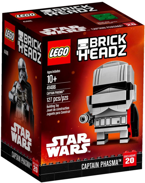 LEGO Star Wars Brick Headz Captain Phasma Set