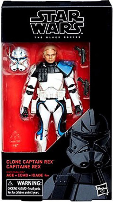 Star Wars The Clone Wars Black Series Clone Captain Rex Action Figure