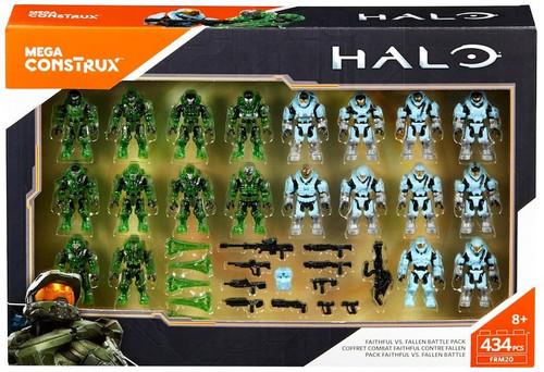 Halo Faithful vs. Fallen Battle Pack Exclusive Mini Figure 20-Pack Set