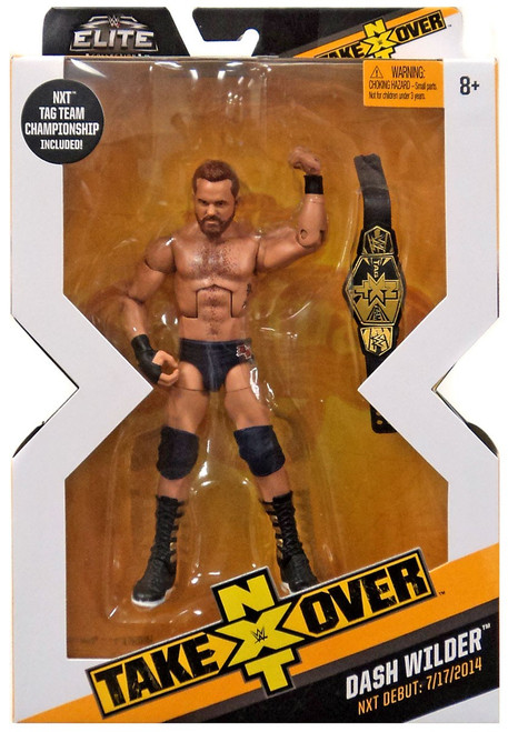 WWE Wrestling Elite NXT Takeover Dash Wilder Action Figure [Tag Team Championship]