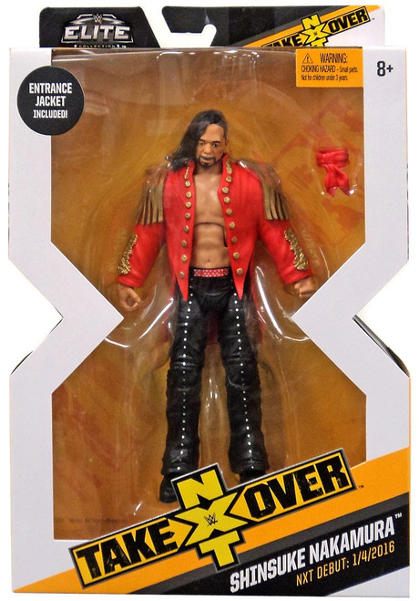 WWE Wrestling Elite NXT Takeover Shinsuke Nakamura Action Figure [Entrance Jacket]
