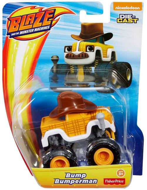 Fisher Price Blaze & the Monster Machines Nickelodeon Bump Bumperman Diecast Car