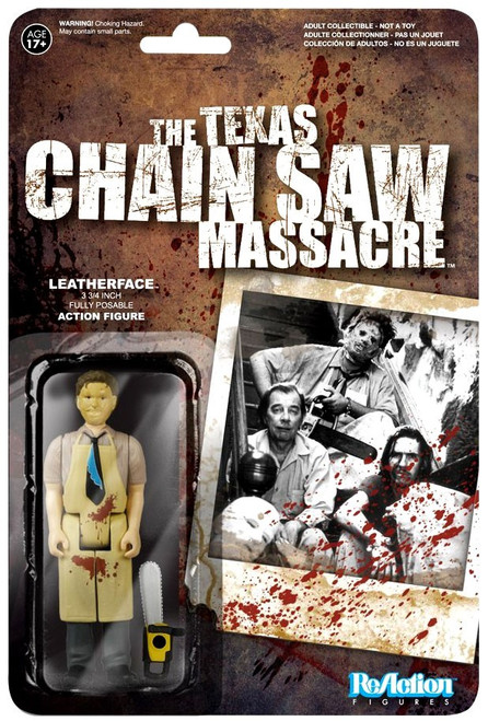 Funko The Texas Chainsaw Massacre ReAction Leatherface Action Figure