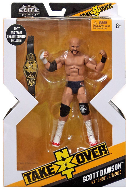 WWE Wrestling Elite NXT Takeover Scott Dawson Action Figure