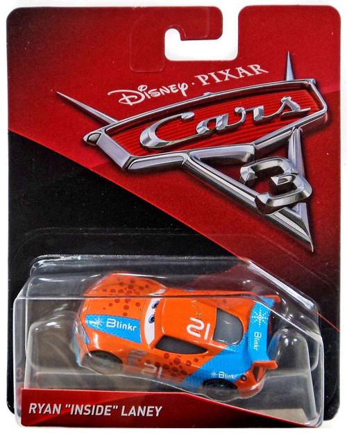 "Disney / Pixar Cars 3 Ryan ""Inside"" Laney Diecast Car"