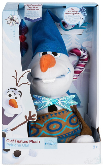 Disney Olaf's Frozen Adventure Olaf Holiday Exclusive 10-Inch Plush with Sound