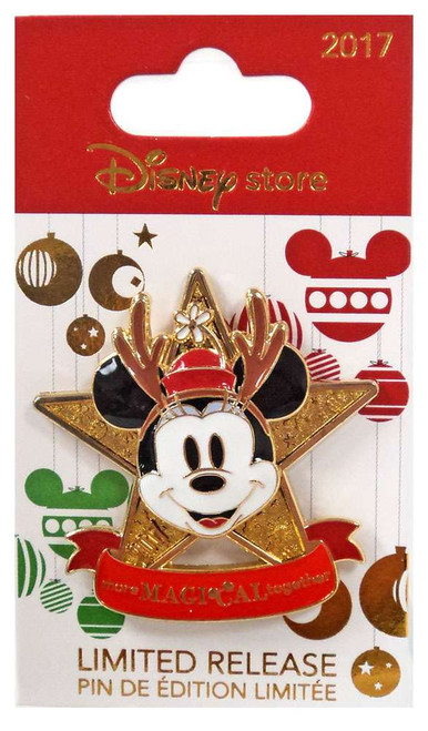 Disney 2017 Holiday Minnie Mouse Exclusive 1.75-Inch Pin